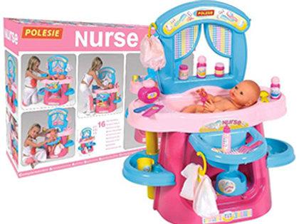 Polesie Nurse Set Nanny Toy