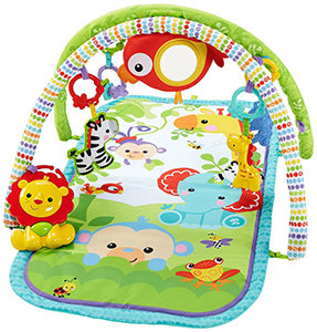 Fisher-Price Rainforest Friends 3-in-1 Musical Activity Gym