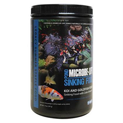 Microbe-Lift Sinking Food (Koi & Goldfish Food) with Colour Enhancer (14 oz)