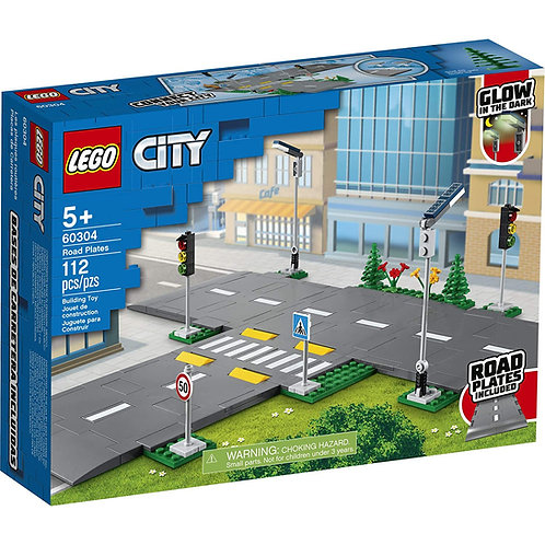 LEGO City Road Plates Building Kit; Cool Building Toy