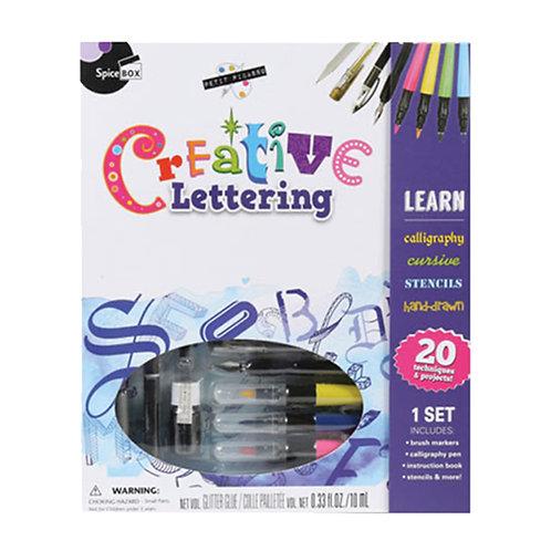 Spice Box Creative Lettering