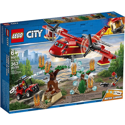 LEGO City Fire Plane Building Kit