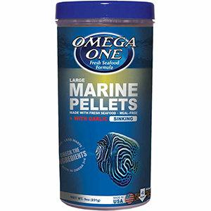 Omega One Garlic Marine Pellets – Large (9 oz)