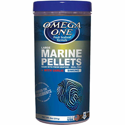 Omega One Garlic Marine Pellets – Large (9 oz)