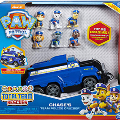Paw Patrol Team Rescue – Chase's Team Police Cruiser