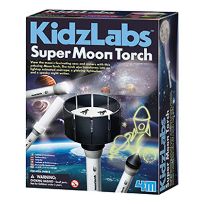 KidzLabs Super Moon Torch Science Kit