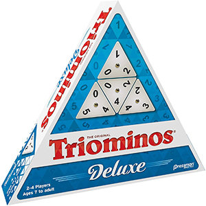 Tri-Ominos Deluxe Game - Pressman Toys