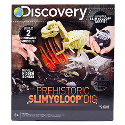 Discovery Prehistoric Slimygloop Dig (2 Dinosaur models)