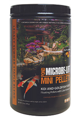 Microbe-Lift Mini Pellets (Koi & Goldfish Food) – Floating Pellets with Colour E