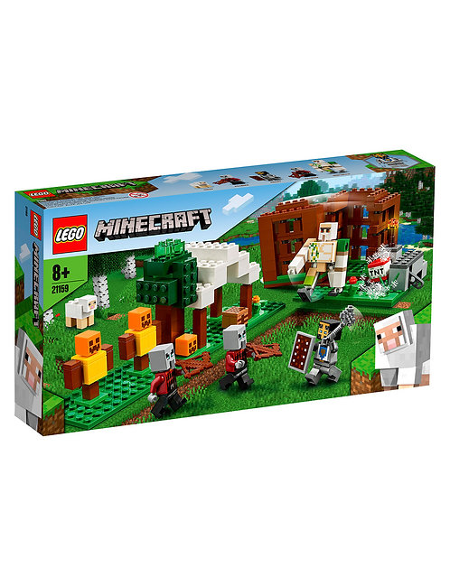 Lego Minecraft The Pillager Outpost Awesome Action Figure Brick Building Playset