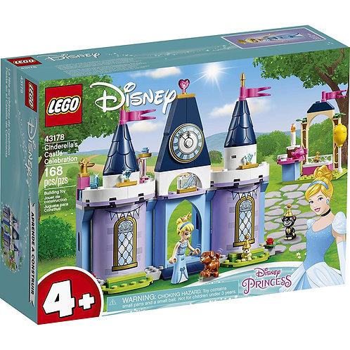 LEGO Disney Cinderella's Castle Celebration Creative Building Kit