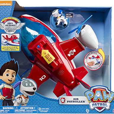 Paw Patrol Nickelodeon - Lights and Sounds Air Patroller Plane
