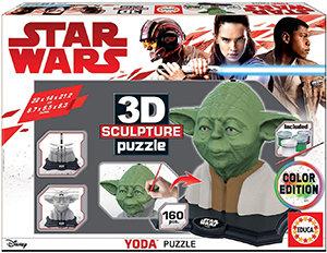 Star Wars – 3D Sculpture Puzzle Yoda