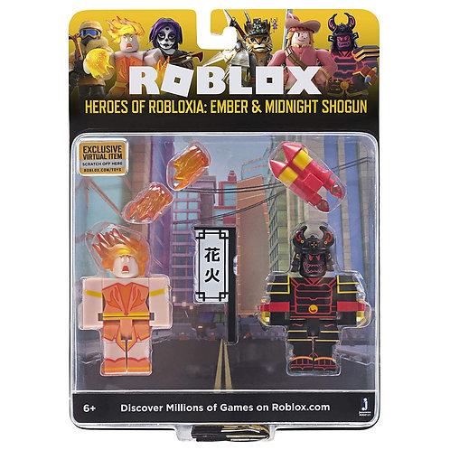 Roblox Heros of Robloxia: Ember & Midnight Shogun
