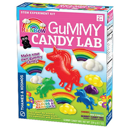 Thames & Kosmos Rainbow Gummy Candy Lab - Unicorns, Clouds & Rainbows!