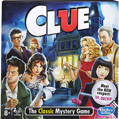 Clue The Classic Mystery Game - Hasbro