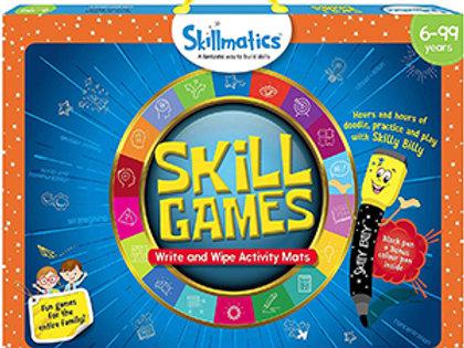 Skillmatics: Skill Games (Write & Wipe Activity Mats) (6-99 Years)