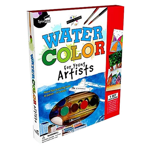 Spice Box Water Color For Young Artist