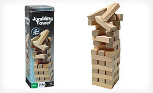 Jumbling Tower – A Game of Strategy & Nerves