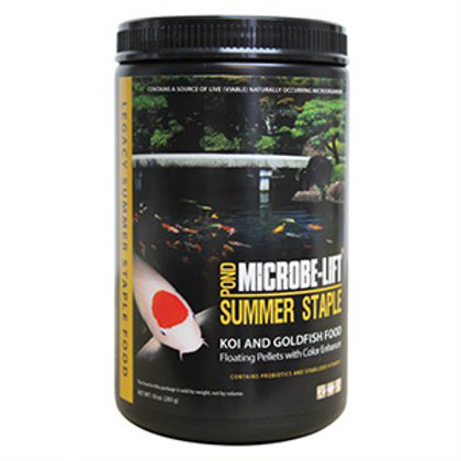 Microbe-Lift Summer Staple (Koi & Goldfish Food) – Floating Pellets with Colour