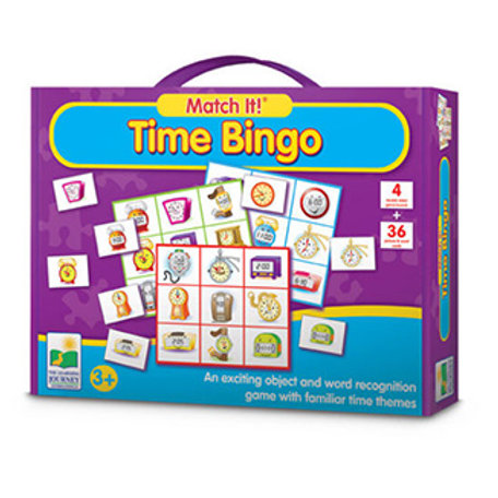 Match It! Time Bingo (The Learning Journey)