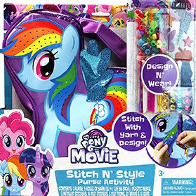My Little Pony Stitch N Style Purse Activity