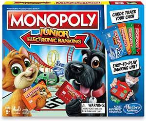 Monopoly Junior Electronic Banking – Hasbro