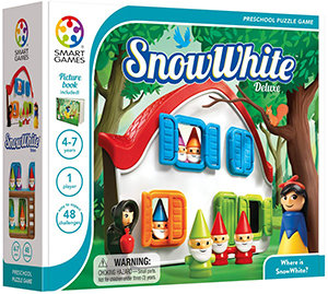 Snow White - Deluxe Cognitive Skill-Building Puzzle Game