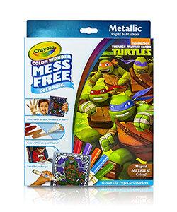 Crayola Colour Wonder Nickelodeon Teenage Mutant Ninja Turtles Mess-Free Colorin