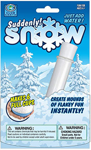 Suddenly Snow - Create Mounds Of Flakey Fun Instantly!