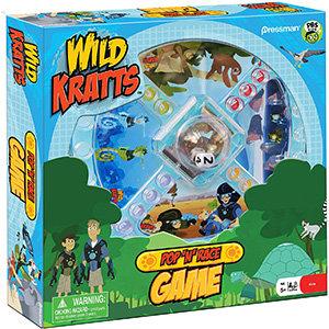 Wild Kratts Pop 'N' Race – Pressman Toys
