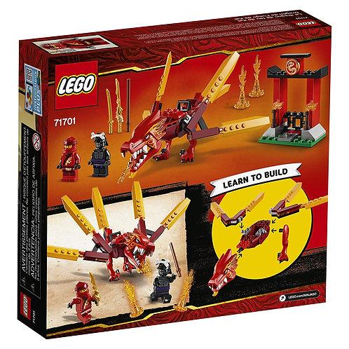 LEGO NINJAGO Legacy Kai's Fire Dragon Dragon Toy Figure Building Kit