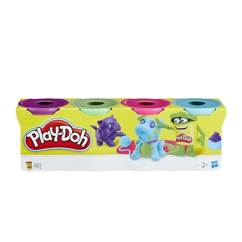 Play-Doh Dough Compound 4 Pack Basic