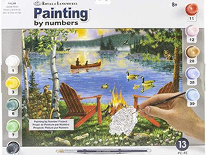 Painting By Numbers – Royal & Langnickel, Lakeside Retreat