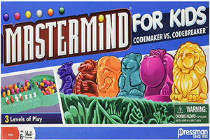 Mastermind for Kids (Codemaker vs Codebreaker) – Pressman Toys