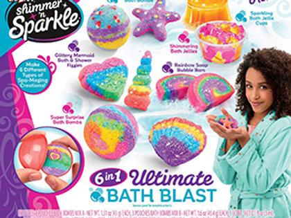Cra-Z-Art Shimmer 'n Sparkle 6 in 1 Ultimate Bath Blast