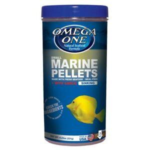Omega One Garlic Small Marine Pellets (Sinking) (8.25 oz)