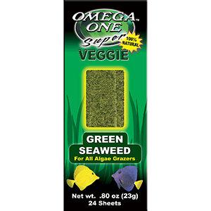 Omega One Super Veggie Green Seaweed (24 sheets)