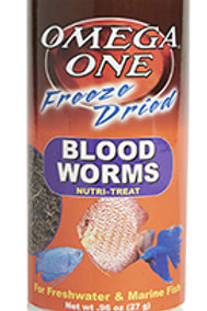 Omega One Freeze Dried Blood Worms (0.96 oz)