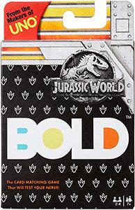 Bold Jurassic World Card Game