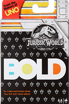 Bold Jurassic World Card Game