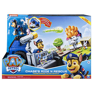 Paw Patrol Chase's Ride N Rescue - Transforming Police Vehicle