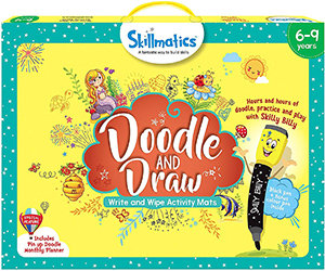 Skillmatics: Doodle and Draw (Write & Wipe Activity Mats) (6-9 years)