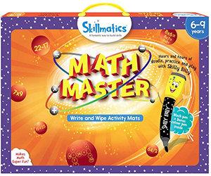 Skillmatics: Math Master (Write & Wipe Activity Mats) (6-9 Years)