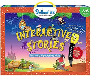 Skillmatics: Interactive Stories (Write & Wipe Activity Mats) (3-6 Years)