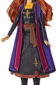 Disney Frozen Anna - Autumn Swirling Adventure Fashion Doll That Lights Up, Insp