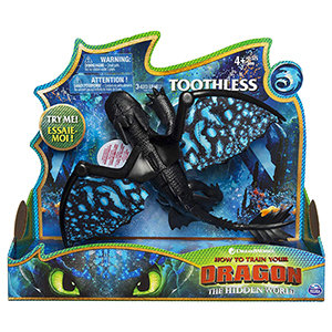 Dreamworks Dragons, Toothless Deluxe Dragon with Lights & Sounds