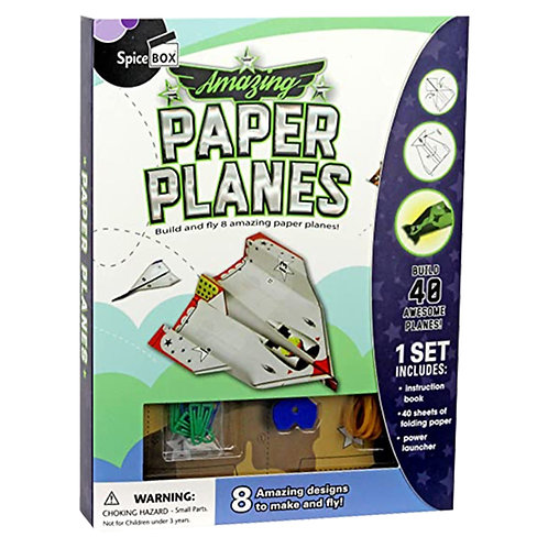 Spice Box Amazing Paper Planes
