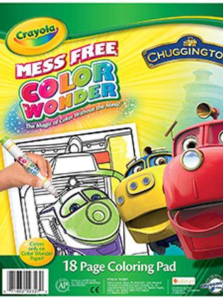 Crayola Color Wonder Chuggington 18 pg Coloring Pad