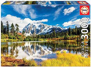 Educa 3000 Piece Puzzle - Mount Shuksan, Washington
